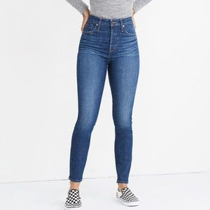 "Madewell Petite 10"" High-Rise Skinny Jeans"